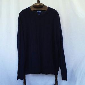 John Ashford sweater Size XL Navy blue Pullover